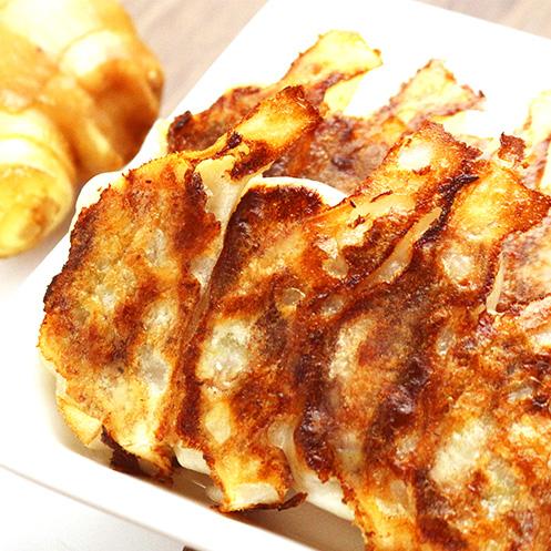 生姜旨汁薄皮餃子